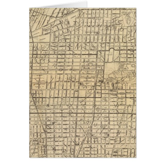 Map of Berkeley, California Card