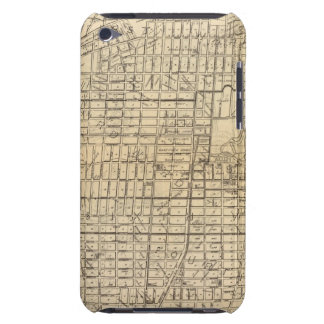 Map of Berkeley, California iPod Touch Covers