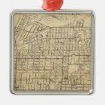 Map of Berkeley, California Metal Ornament
