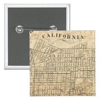 Map of Berkeley, California Pinback Button