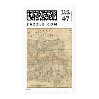 Map of Berkeley, California Postage
