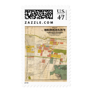 Map of Berkeley Postage