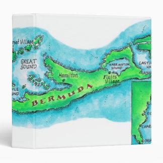 Map of Bermuda Binder