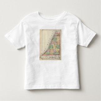 Map of Berrien County, Michigan Toddler T-shirt