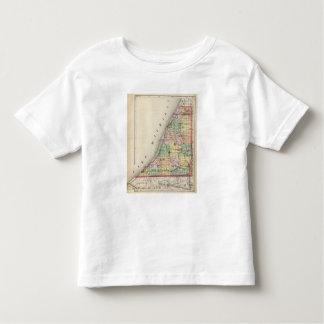 Map of Berrien County, Michigan Toddler T-shirt