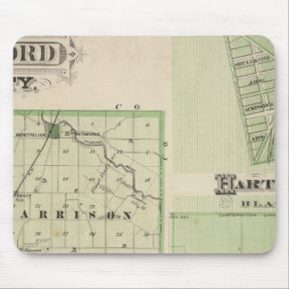 Map of Blackford County with Montpelier Mouse Pads