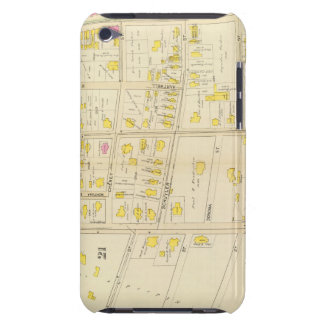 Map of Boston 10 iPod Touch Cover