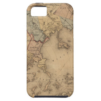 Map Of Boston 1861 iPhone SE/5/5s Case