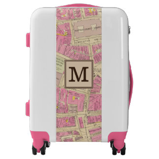 Map of Boston 21 | Monogram Luggage