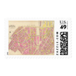 Map of Boston 28 Stamps