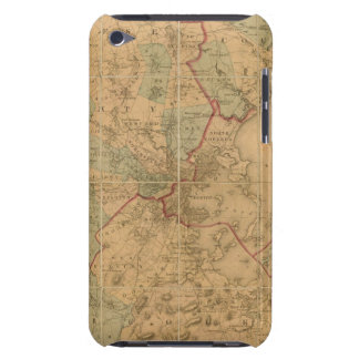 Map Of Boston 2 Barely There iPod Cover