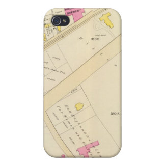 Map of Boston 2 iPhone 4 Cover
