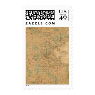 Map Of Boston 2 Postage