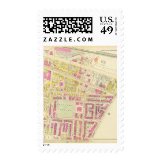 Map of Boston 3 Stamps