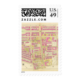 Map of Boston 5 Stamps