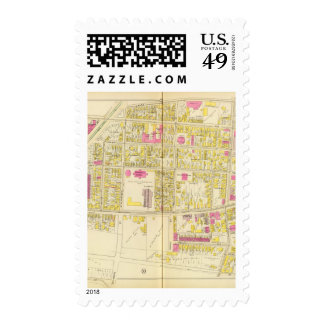 Map of Boston 6 Postage