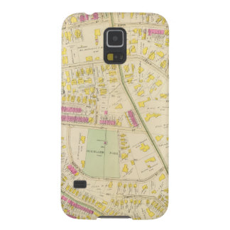 Map of Boston 7 Galaxy S5 Cover