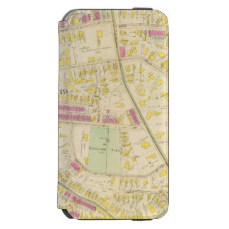 Map of Boston 7 iPhone 6/6s Wallet Case
