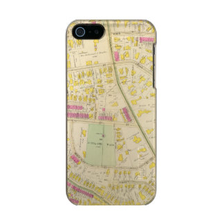 Map of Boston 7 Metallic Phone Case For iPhone SE/5/5s