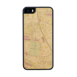 Map of Boston 7 Wood iPhone SE/5/5s Case