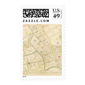 Map of Boston 9 Postage