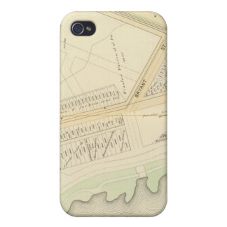 Map of Boston Covers For iPhone 4