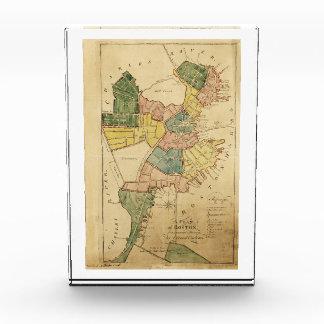 Map of Boston Massachusetts (1805) Award