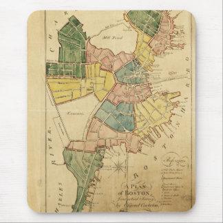 Map of Boston Massachusetts (1805) Mouse Pad