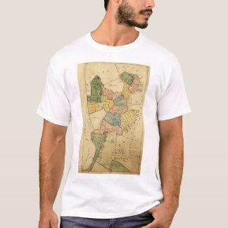 Map of Boston Massachusetts (1805) T-Shirt