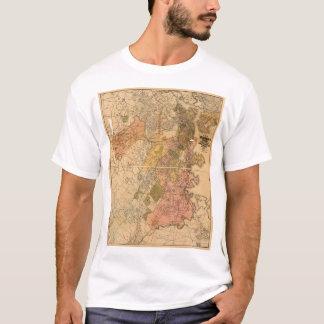 Map of Boston Massachusetts (1888) T-Shirt