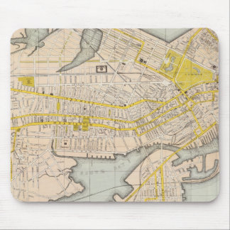Map Of Boston Mouse Pad