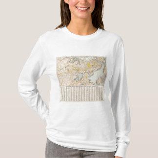 Map Of Boston T-Shirt