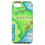 Map of Brazil iPhone 5 Case