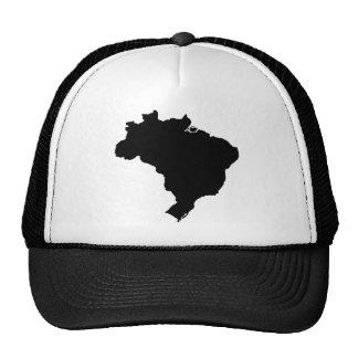 Map of Brazil Trucker Hat