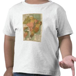 Map of Brazil Shirts