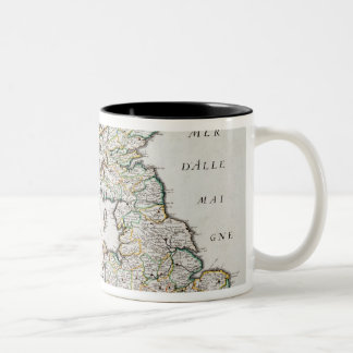 Map of Britain and Ireland, published Paris 1640 ( Two-Tone Coffee Mug