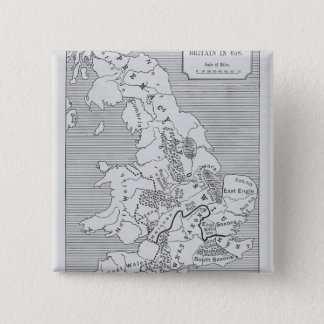 Map of Britain produced by Stanford's Button