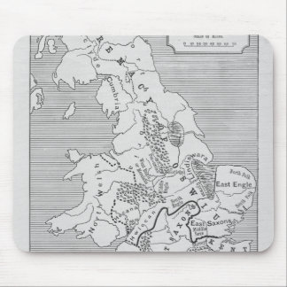 Map of Britain produced by Stanford's Mouse Pads