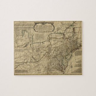Map of British Colonies in America (1771) Jigsaw Puzzle