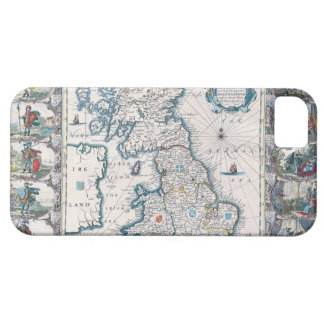Map of British Isles 2 iPhone 5 Cover