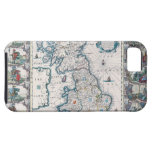 Map of British Isles 2 iPhone 5 Cases