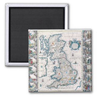 Map of British Isles 2 Magnet