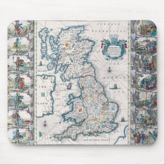 Map of British Isles 2 Mousepad