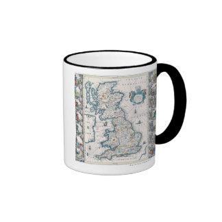 Map of British Isles 2 Mugs