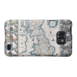 Map of British Isles 2 Samsung Galaxy S Covers
