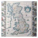 Map of British Isles 2 Tile
