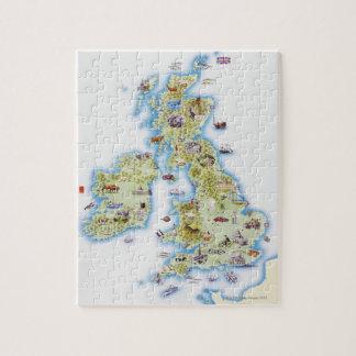 Map of British Isles Puzzle