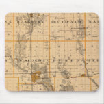 Map of Buchanan County, State of Iowa Mouse Pads