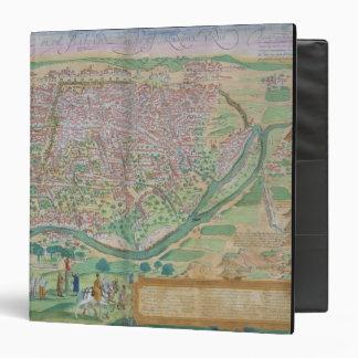 Map of Cairo, from 'Civitates Orbis Terrarum' by G Binder