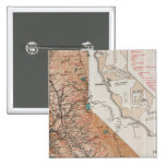 Map of California 2 Pinback Buttons